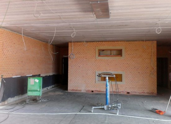 Klinkerbau Dresden Innernraum
