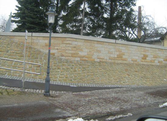 Klinkerbau Sandstein Flutschutz Dresden