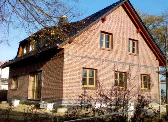Klinkerbau Eigenheim