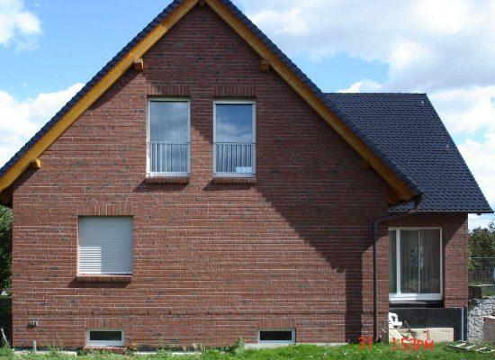 Eigenheim-Klinkerfassade