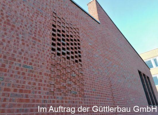 Klinkerprojekt Gerhard-Gebhardt-Bau Hochschule Mittweida